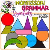 Montessori Grammar Symbols | KGJ Clipart