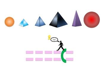 Montessori Grammar Symbols Pyramid Landscape Chart