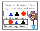 Montessori Grammar Work