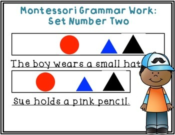 Montessori Grammar Work #2