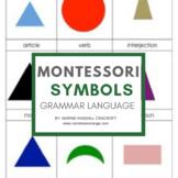 Montessori 3 Part Cards - Grammar Symbols