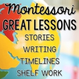 Montessori Great Lessons - Stories & Activities