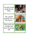 Montessori Green Series - Simple Sentence Matching
