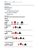 Montessori Gustar Practice Worksheet