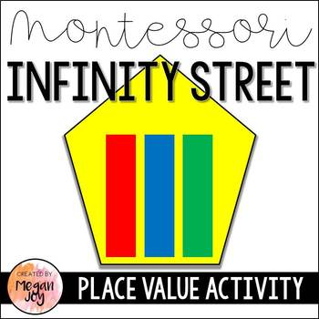Montessori Infinity Street Place Value Activity with Recording Sheets