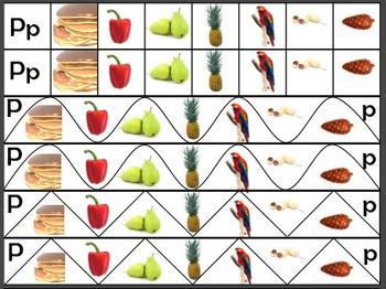Montessori Initial Sounds Cutting Practice - Alphabet Phonics For Preschool