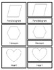Montessori-Inspired 3 Part Cards: Shapes