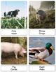Montessori Inspired 3 Part & Classification Cards: Farm Life - Bilingual Pack