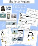 Montessori Inspired Arctic - Polar Regions Printable Pack