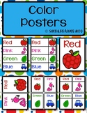 Color Posters with Fun Clipart & Real Images