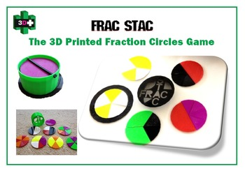 Montessori Inspired Fraction Circles - 3D Printer Design Files