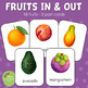Montessori Fruits Inside and Outside 3 Part Cards