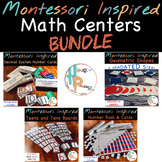 Montessori Inspired Math Centers Bundle