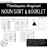 Montessori Inspired Noun Sort and Booklet