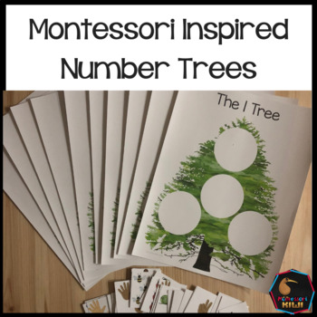 Montessori Inspired Number Trees