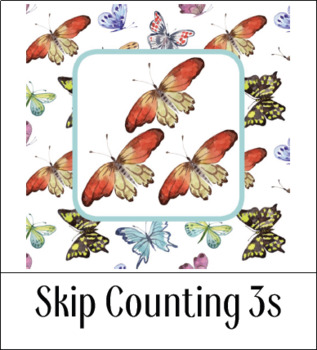 Montessori-Inspired Skip Counting 3s for Kids {Printables}