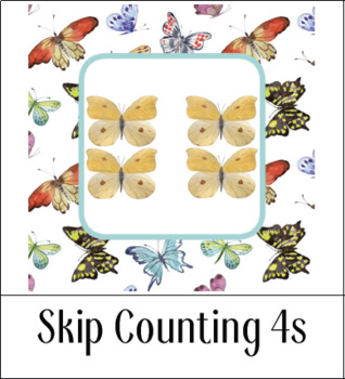 Montessori-Inspired Skip Counting 4s for Kids {Printables}
