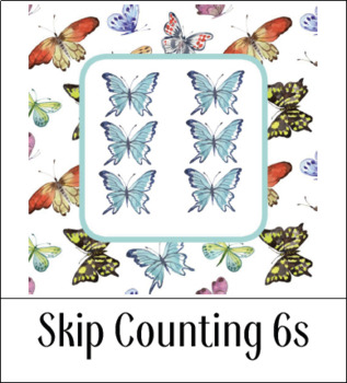 Montessori-Inspired Skip Counting 6s for Kids {Printables}
