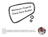 Montessori-Inspired Stamp Game Booklet