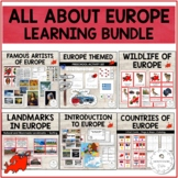 Study of Europe - Montessori Inspired Bundle