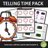 Montessori Inspired Telling Time Extension Activities