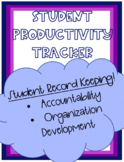 Student Productivity Tracker: Student Record Keeping