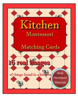 Montessori - Kitchen Matching Cards