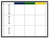 Montessori Sensorial Knobless Cylinders--Complete the Matr