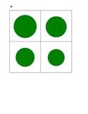 Montessori Sensorial Knobless Cylinders--birds-eye-view-green