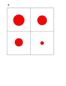 Montessori Sensorial Knobless Cylinders--birds-eye-view-red