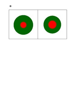 Montessori Sensorial Knobless Cylinders--birds-eye-view-red-green