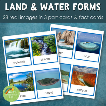 Montessori Land and Water Features (Real Images)