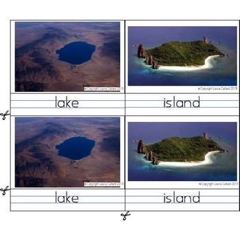 Montessori Landforms - Drawings and Photos