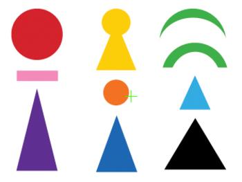 Montessori Language - Grammar Symbols 3-Parts card