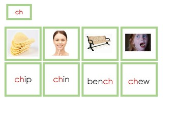 Montessori - Language - Green Series - Green Phonogram Box