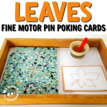 Montessori Leaf Pin Poking Printables (or Tracing)