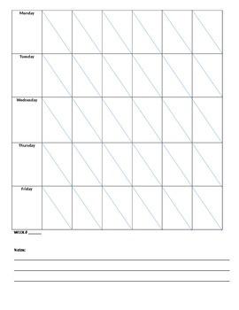 Montessori Lesson Planner