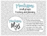 Montessori Lesson Planning & Tracking