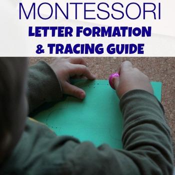 Montessori Letter Formation & Tracing Guide