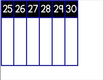 Montessori Linear Calendar