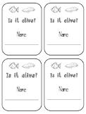 Montessori Living and Non-living booklet