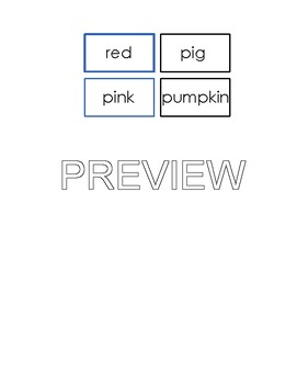 Montessori Logical Adjective Game - Phonetic