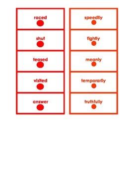 Montessori Logical Adverb Card Set #3