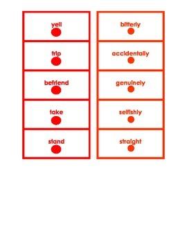 Montessori Logical Adverb Card Set #4