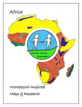 Montessori Maps & Research - Africa