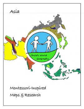 Montessori Maps & Research - Asia