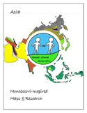 Montessori Maps & Research - Asia