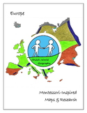 Montessori Maps & Research - Europe