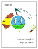 Montessori Maps & Research - Oceania