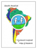 Montessori Maps & Research - South America